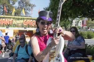 Groovy Judy at the San Mateo County Fair - June 6, 2015