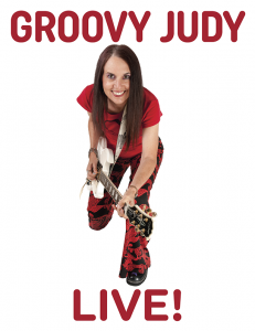 Groovy Judy placeholder flyer